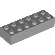 Light Bluish Gray Brick 2 x 6  4211795