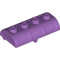 Medium Lavender Container, Treasure Chest Lid - Thick Hinge  6056227 or 6167678
