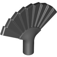Black Minifig, Utensil Hand Fan  4652470