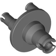 Dark Bluish Gray Technic, Steering Wheel Hub 3 Pin Round  4610378