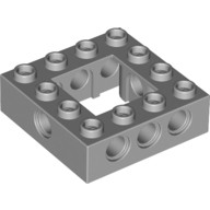 Light Bluish Gray Technic, Brick 4 x 4 Open Center  4211640