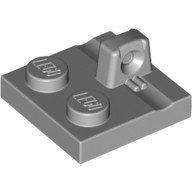 Light Bluish Gray Hinge Plate 2 x 2 Locking with 1 Finger on Top  4666449