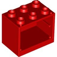 Red Container, Cupboard 2 x 3 x 2  453221 or 4619543