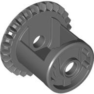 Dark Bluish Gray Technic, Gear Differential with Inner Tabs and Closed Center, 28 Bevel Teeth  4525184 or 4562210