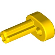 Yellow Technic Engine Crankshaft  4119474