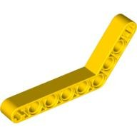 Yellow Technic, Liftarm 1 x 9 Bent (6 - 4) Thick  4112281 or 4188311