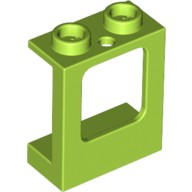 Lime Window 1 x 2 x 2 Plane, Single Hole Top and Bottom for Glass  6146952