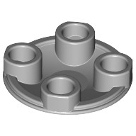 Light Bluish Gray Plate, Round 2 x 2 with Rounded Bottom (Boat Stud)  4211372 or 4278273