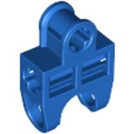 Blue Technic, Axle Connector 2 x 3 with Ball Socket, Open Sides  4120106