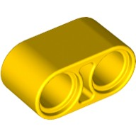 Yellow Technic, Liftarm 1 x 2 Thick  4187122