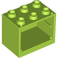 Lime Container, Cupboard 2 x 3 x 2  4625623