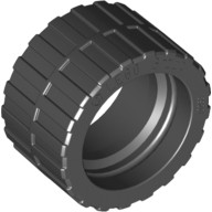 Black Tire 24 x 14 Shallow Tread, Band Around Center of Tread  4639695 or 6132299