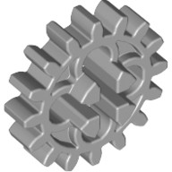 Light Bluish Gray Technic, Gear 16 Tooth (First Version - 4 Round Holes)  4211563