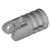 Light Bluish Gray Hinge Cylinder 1 x 2 Locking with 2 Fingers and Axle Hole on Ends  4222047