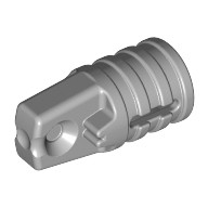 Light Bluish Gray Hinge Cylinder 1 x 2 Locking with 1 Finger and Axle Hole on Ends  4211679