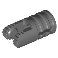 Dark Bluish Gray Hinge Cylinder 1 x 2 Locking with 2 Fingers and Axle Hole on Ends  4210695