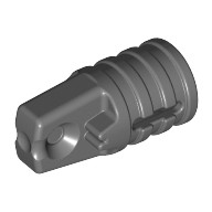 Dark Bluish Gray Hinge Cylinder 1 x 2 Locking with 1 Finger and Axle Hole on Ends  4210694