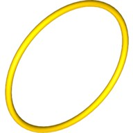Yellow Rubber Belt Extra Large (Round Cross Section) - Approx. 5 x 5  4544151 or 70905