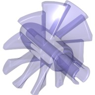 Trans-Purple Engine, Large, Center, 10 Blades  6173791