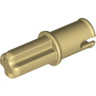 Tan Technic, Axle Pin without Friction Ridges Lengthwise  4186017 or 4666579 or 65625
