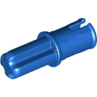 Blue Technic, Axle Pin with Friction Ridges Lengthwise  4206482 or 4309323