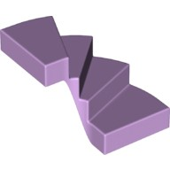 Lavender Stairs 6 x 6 x 4 Curved  6178331