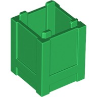 Green Container, Box 2 x 2 x 2 - Top Opening  4548102