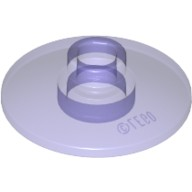 Trans-Purple Dish 2 x 2 Inverted (Radar)  6097512