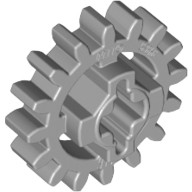 Light Bluish Gray Technic, Gear 16 Tooth (New Style Reinforced)  4640536