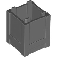Dark Bluish Gray Container, Box 2 x 2 x 2 - Top Opening  4520307