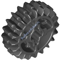 Black Technic, Gear 20 Tooth Double Bevel  4177430 or 6093977