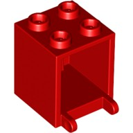 Red Container, Box 2 x 2 x 2  4261628 or 434521