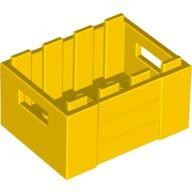 Yellow Container, Crate with Handholds  4599378