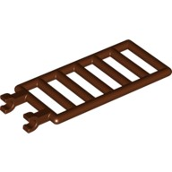 Reddish Brown Bar 7 x 3 with Double Clips (Ladder)  4541278 or 6030812