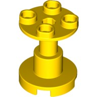 Yellow Support 2 x 2 x 2 Stand with Complete Hole  6155669
