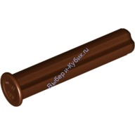 Reddish Brown Technic, Axle 3 with Stop  6135494