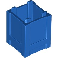 Blue Container, Box 2 x 2 x 2 - Top Opening  6173942