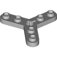 Light Bluish Gray Technic, Plate Rotor 3 Blade with Smooth Ends and 6 Studs (Propeller)  4211842 or 4262978