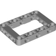 Light Bluish Gray Technic, Liftarm 5 x 7 Open Center Frame Thick  4539880