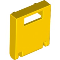 Yellow Container, Box 2 x 2 x 2 Door with Slot  4217750 or 6146456