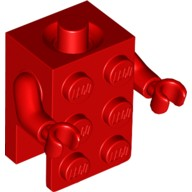 Red Torso, 2 x 3 Brick Costume / Red Arms / Red Hands  6224427